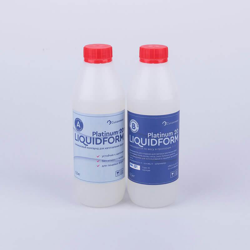 Пищевой силикон для форм Liquidform Platinum 20.