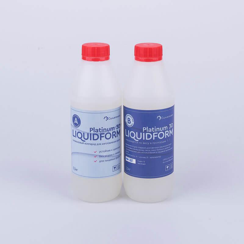 Пищевой силикон для форм Liquidform Platinum 30.