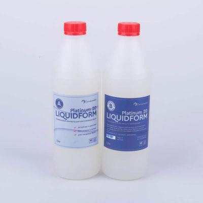 Пищевой силикон для изготовления форм Liquidform Platinum 20A - 2кг.