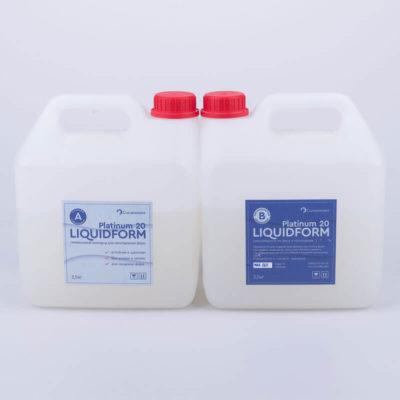 Пищевой силикон для заливки форм Liquidform Platinum 20A - 5кг.